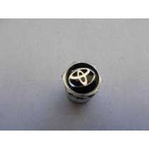 Jogo De Bico De Pneu C/ Antifurto Emblema Toyota