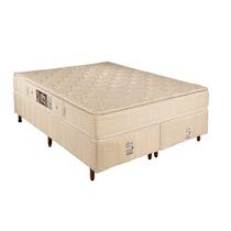 Conjunto Box&colchão Star Flex Molas Ensaca 138x188x68-ortho