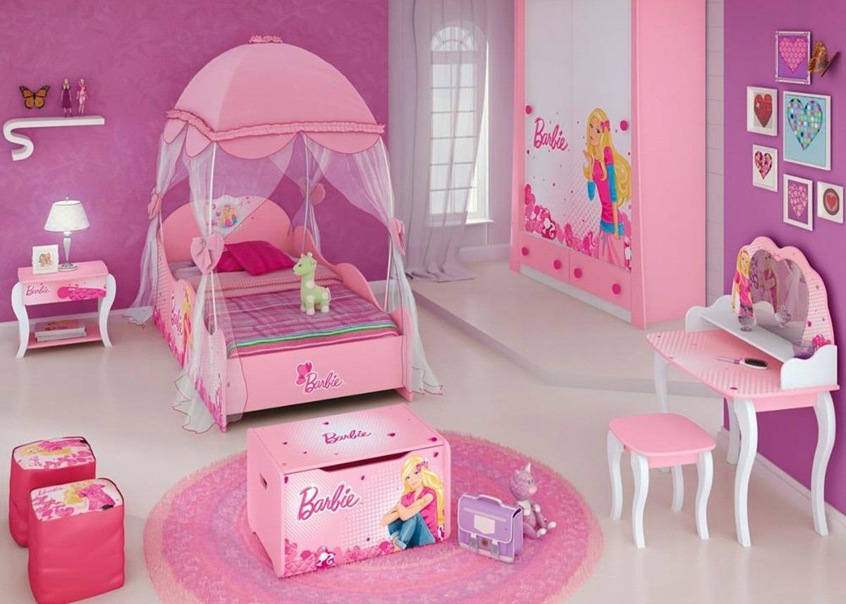 Cama infantil barbie star com dossel pura magia bebe store - Camas para bebe ...