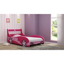 Cama P/meninas Carro Princesa 0.90 - Gelius - Compre Móveis