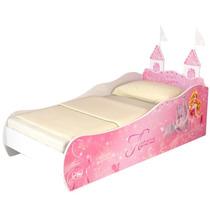 Mini Cama Infantil Aurora Com Torre Disney Pura Magia