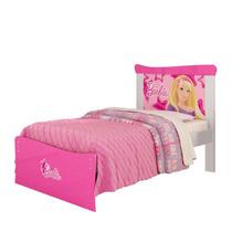 Cama E Criado Mudo Da Barbie Pura Magia Rosa
