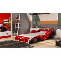 Cama Carro Solteiro F1 Para Meninos - Compre Móveis