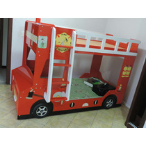 Vendo Cama Infantil Estilizada Modelo Carro De Bombeiro.