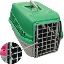Caixa De Transporte Para Cães E Gatos Mecpet N1 48x32x30cm