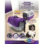 Caixa De Transporte Para Animais Com Bebedouro Nº02 - Vermel