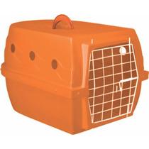 Caixa De Transporte Para Cães Cachorros Gatos Avião 6 Cores