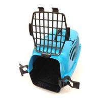 Casinha De Transporte Para Animais Azul - Tamanho Pequeno