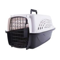 Caixa De Transporte Com 02 Portas Kennel Petmate Branca