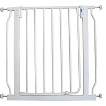 Portão De Segurança Para Cães E Gatos - Branca - 75x85 Cm