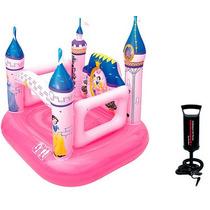 Pula Pula Castelo Disney Princesas + Bomba Ar Manual
