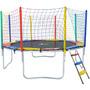 Loja Brinquedos Cama Elastica 3,05 + Rede + Escada + Nota