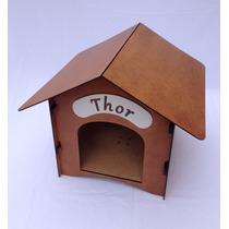 Casinha Para Cachorros Pequenos Em Mdf/madeira Desmontável