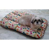 Cama Colchonete Tapete Almofada Confortável Cães E Gatos G