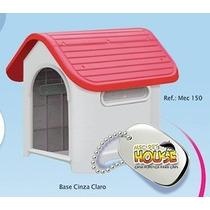 Casa Cachorro Gatos Pet De Plastico Porte Médio