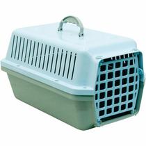 Caixa / Casinha Para Transportar Cachorro Ou Gato Azul
