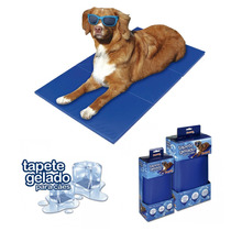 Tapete Gelado Refrescante Para Cães E Gatos Pet - 40 X 50 Cm