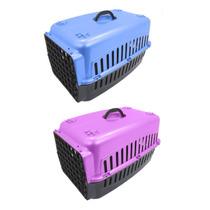 3 Caixas Transporte Para Cães E Gatos Transportadora Animais
