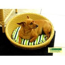 Cama Sofá Junco Para Pets Gatos E Cães Porte Pequeno/médio