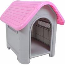 Casa Cachorro Gatos De Plastico Porte Médio