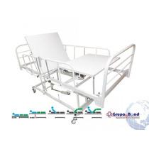 Cama Hospitalar Motorizada Com Elevação Do Leito 3 Mov