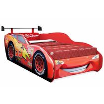 Cama Infantil Carros Disney Star Com Aerofólio Pura Magia