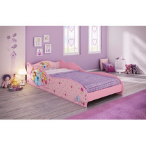 Mini Cama Princesas Disney 100% Mdf Pronta Entrega!!!