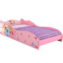 Mini Cama Princesas Disney Rosa Conforto Menina Pura Magia