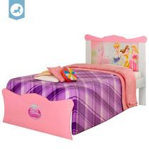Cama Infantil Princesas Disney Happy 100% Mdf Pura Magia