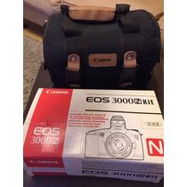 Máquina Fotográfica Analógica Canon Eos 3000nkit