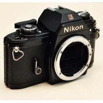 Antiga Câmera Analogica Nikon Em Analogica 35m Funcionando