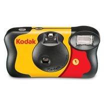 Câmera Descartável Kodak De Cara Nova 27 Poses Flash E Pilha