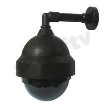 Mini Dome Externo Preto/fume Stilus