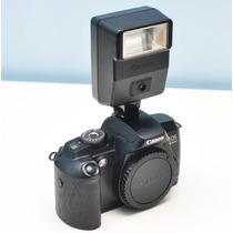 Câmera Canon Eos 5000 35mm Funcionando Slr Analógica Slr