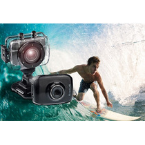 Camera Filma Filmadora Prova Dagua Sports Bike Moto Surf E +