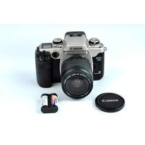 Camera Canon Eos 50e + Lente Ef 28-80mm - Linda E Perfeita!