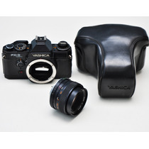 Camera Yashica Fx-d + 50mm 1.7 35mm Analogica Frete Gratis