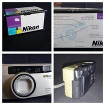 Máquina Fotográfica Nikon Zoom 90 35mm Quartz Date One Touch