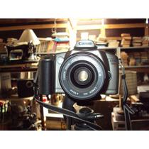 Linda Maquina Fotografica Canon Eos 3000 Com Tripe
