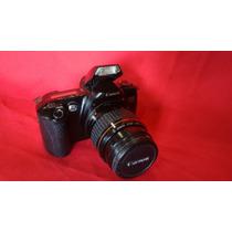 Maquina Fotográfica Antiga Canon Eos 500 Com Lente Ef 35~80m