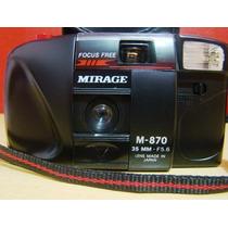Câmera Mirage 35mm Com Flash