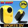 Esporte Camera Mini Dv Full Hd 1080p Prova D