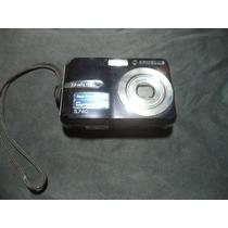 Câmera Fotográfica Digital Samsung Preta - S760