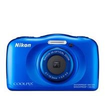 Câmara Nikon Coolpix S33 A Prova D