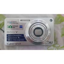 Câmera Digital Sony Dsc-w 350 14.1 Mp - C/4x Zoom Óptico