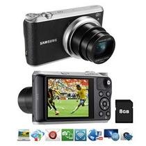 Câmera Samsung Smart Wb350f Preta 16.3mplcd Touch De 3.0