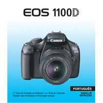 Manual Câmera Canon Eos 1100d T3 Rebel Português Pdf