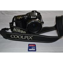 Nikon Coolpix L110 Semiprofissional - Pouquíssimo Uso