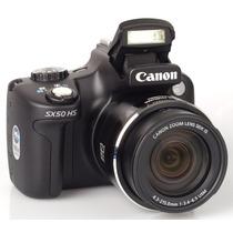 Camera Digital Canon Sx50 Hs Zoom 50x Hdmi Full Hd