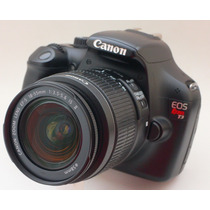 Camera Canon T3 | 1.110 Cliks | 12.2mp + Lente 18-55mm